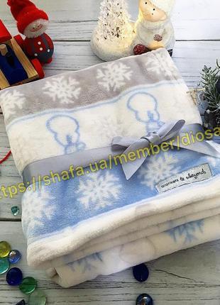 Blankets and beyond canada новогодний рождественский поел одеяло ковдра для новорождённых