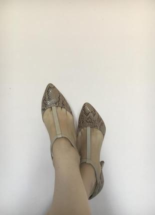 Anna field t-strap shoes 39 sz туфлі