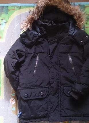 Очень теплая зимняя парка курточка next
