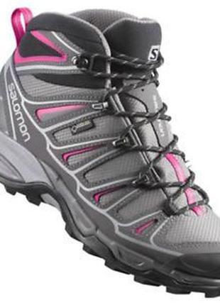 Salomon gore-tex® треккинговые ботинки высокие кроссовки оригинал