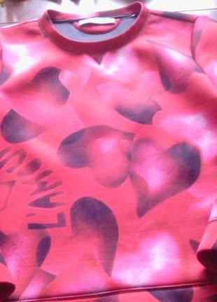 Теплый реглан valentino p.s