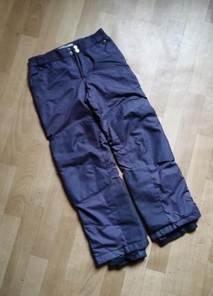 Акция 🌹зимние брюки унисекс, 140