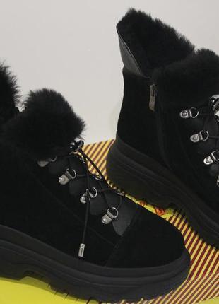 Новинки 2020. теплейшие ботинки  из качественной  овчины, с 36-41р.4 фото