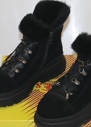 Новинки 2020. теплейшие ботинки  из качественной  овчины, с 36-41р.5 фото