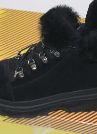 Новинки 2020. теплейшие ботинки  из качественной  овчины, с 36-41р.6 фото