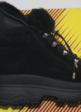 Новинки 2020. теплейшие ботинки  из качественной  овчины, с 36-41р.2 фото