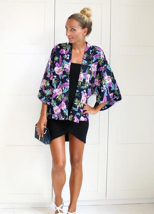 Цветочное кимоно, лёгкая накидка от new look