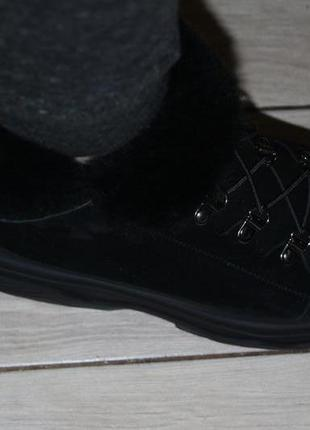 Новинки 2020. теплейшие ботинки  из качественной  овчины, с 36-41р.7 фото