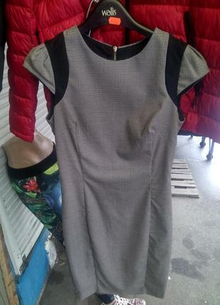 Деловое платье -сарафан