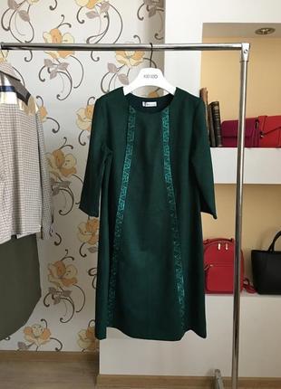 Нарядно-повседневное , дизайнерское платье , велвет от бренда seam
