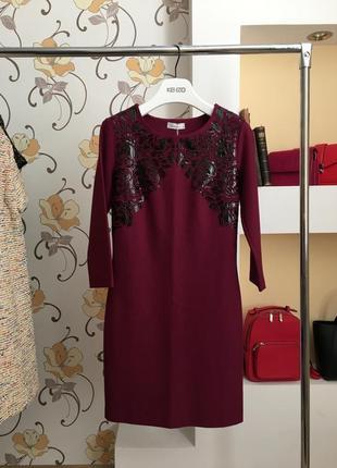 Нарядно-повседневное , дизайнерское платье , джерси , плотное от бренда seam