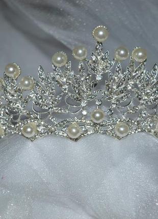 Тиара диадема корона свадебная