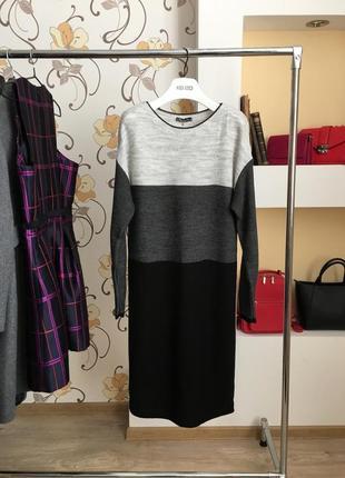 Вязаное , шерстяное , тёплое платье , зимние, есть размеры