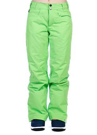 Штаны сноубордические/лыжные женские roxy evolution pt wasabi
