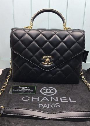Женская маленькая сумка черная чорна через плечо плече сумочка жіноча