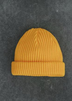 Шапка staff yellow slim