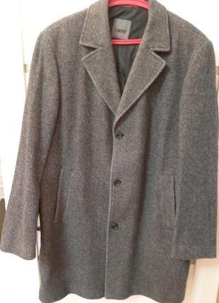 Кашемировое пальто , большой размер . cinque