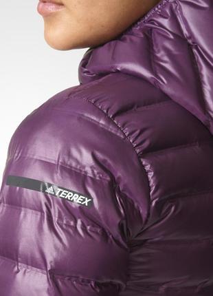 Легкая пуховая куртка adi̇das terrex оригинал5 фото