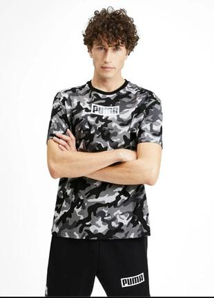 Новая футболка puma camo оригинал