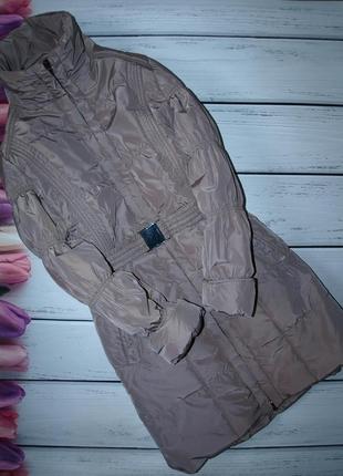 Теплое зимнее пальто montego