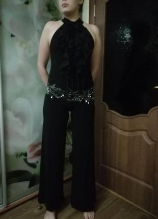Голое платье-комбинезон