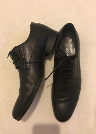 Чёрные мужские классические полуботинки carlo pazolini