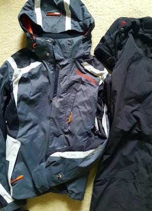 10 000 mm  5 000 mg belowzero костюм лыжный горнолыжный мембрана куртка штаны термо