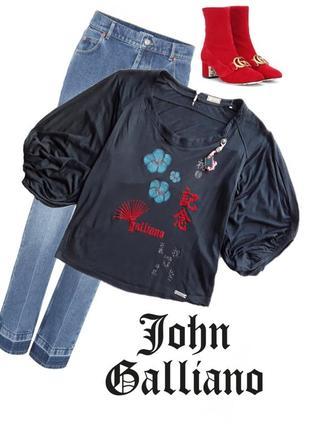 Модная дизайнерская кофта  от john galliano