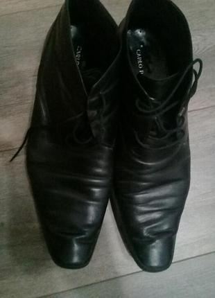 Ботинки carlo pazolini осенние