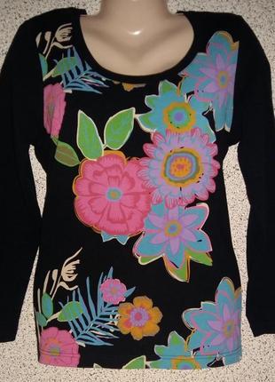 Модный яркий лонгслив от бренда john baner.оригинал