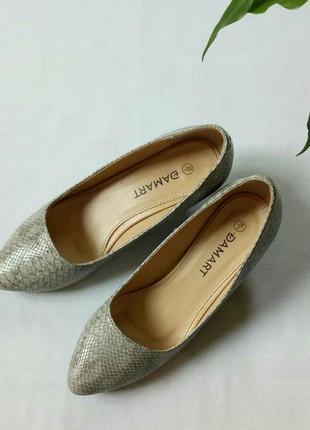 Классические туфли лодочки от damart