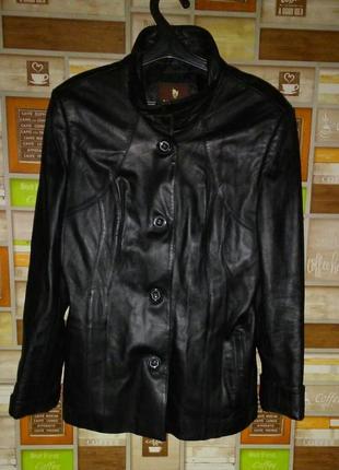 Продам кожаную куртку wanfu collection