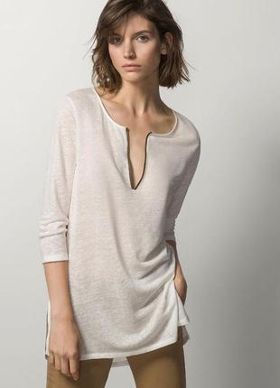 Пуловер блуза женская massimo dutti