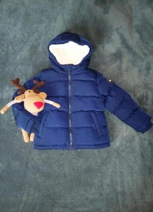 Теплая куртка на мальчика еврозима на 2-3 года