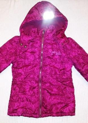 Классная демисезонная куртка topolino на девочку