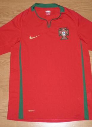Футболка оригинал nike fit dry fpf brasile football размер 152-158см 12-13лет