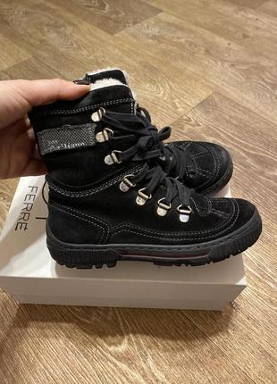 Детские зимние ботинки john galliano (оригинал)