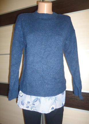 Свитер - рубашка per una