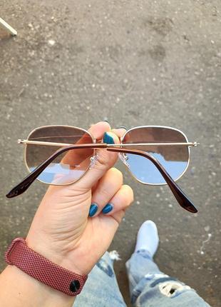 Солнцезащитные круглые очки ray flector rf917