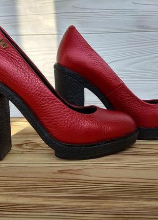 Кожанные туфли vitto rossi