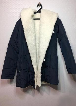 Куртка зимняя овер-сайз