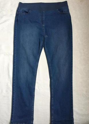 Супер джеггинсы джинсы стреч жен 2xl (52)