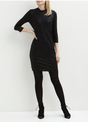 Черное платье object 14-16 размер (хl)