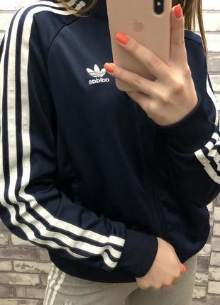 Adidas оригинал адидас олимпийка бомбер худи бобка кофта