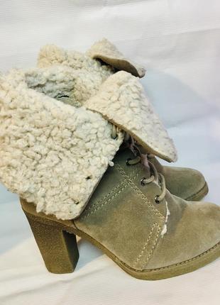 Зимние ботинки marco tozzi 36 р