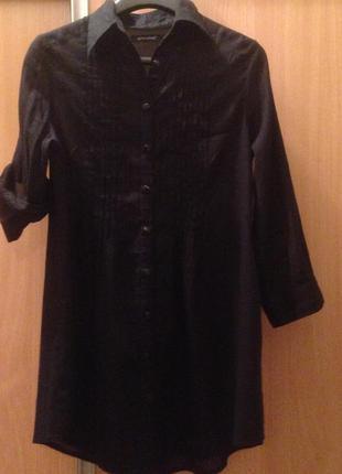 Рубашка-платье из тонкого котона