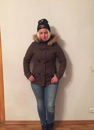 Дафлкот зимний! очень модный,тёплый!5