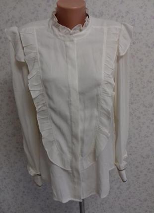 💛шикарная нежная блуза шёлк ф.julie fagerholt 💛