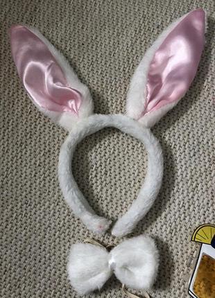 Ушки зайца костюм зайца