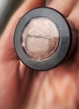 Коричневые металик тени mac